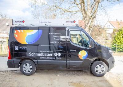 Autobeschriftung Schmidbauer
