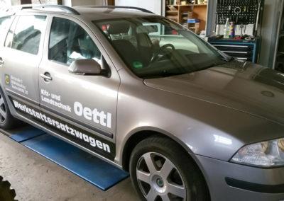Autobeschriftung Landtechnik Oettl