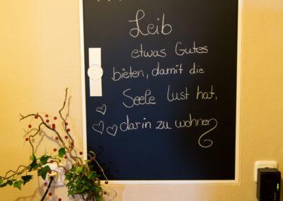 Beschriftung Stromkasten Tafelfolie Huber Wirt Wasserburg Brei Werbetechnik