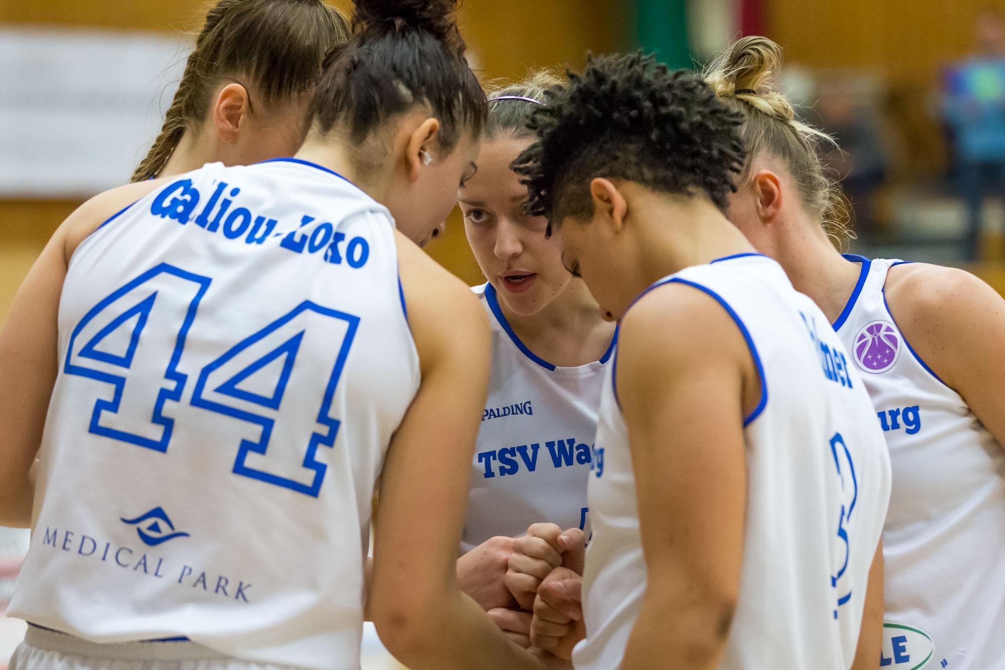TSV Wasserburg Basketball Damen 1. Bundesliga DBBL Brei Werbetechnik Badria