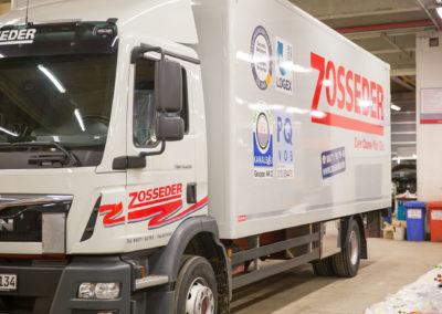 Fahrzeugbeschriftung Autobeschriftung Lastwagenbeschriftung Zosseder Wasserburg Brei Werbetechnik