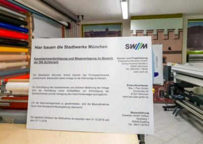Bauschild Schlierach