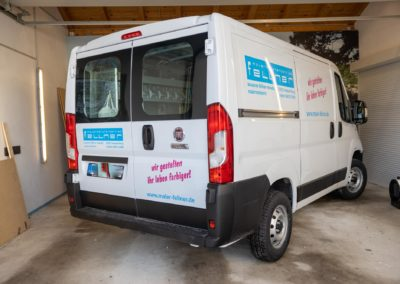 Fahrzeugbeschriftung Maler Fellner Wasserburg