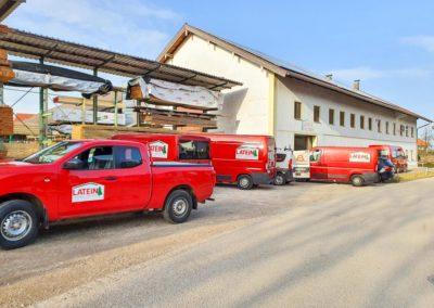 Fahrzeugbeschriftung Latein Eiselfing Neubeschriftung Flotte