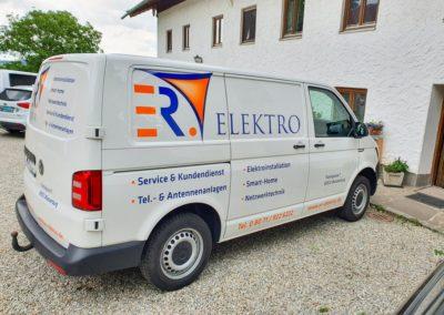 Fahrzeugbeschriftung ER Elektro Wasserburg