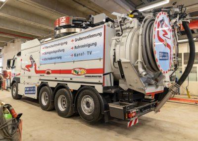 LKW Beschriftung Saugwagen Zosseder Wasserburg