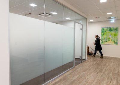 Sichtschutzfolien Glasdekorfolie Büro München