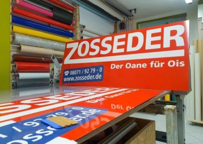 Firmenschilder Zosseder Eiselfing