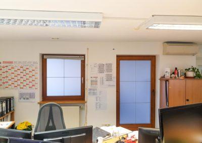 Sichtschutzfolie Büro Wasserburg