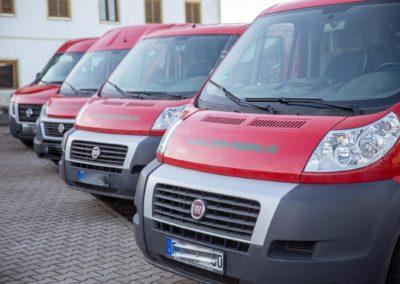 Fahrzeugbeschriftung Latein Holzbau Eiselfing