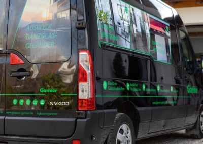 Fahrzeugbeschriftung Glaserei Gartner Wasserburg