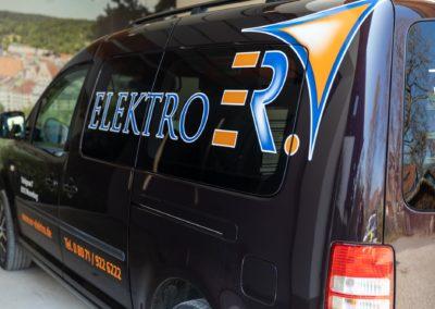 Autobeschriftung ER Elektro Wasserburg
