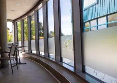 Sichtschutzfolie Glasdekorfolie Classik K Badria Wasserburg