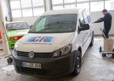 Fahrzeugbeschriftung CR Innenausbau Eiselfing Wasserburg