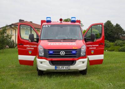 Fahrzeugbeschriftung Freiwillige Feuerwehr Freiham
