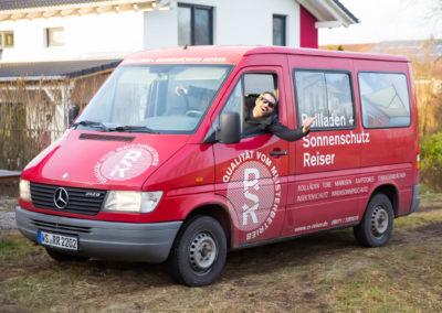 Fahrzeugbeschriftung Rollladen und Sonnenschutz Reiser Wasserburg