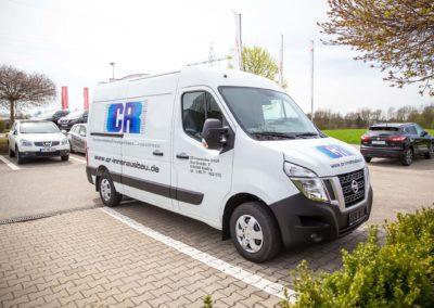 Fahrzeugbeschriftung CR Innenausbau Wasserburg Eiselfing