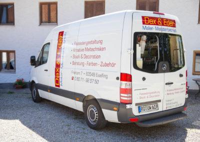 Fahrzeugbeschriftung Dax&Eder Wasserburg