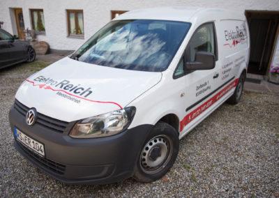 Fahrzeugbeschriftung Elektro Reich Eiselfing Wasserburg