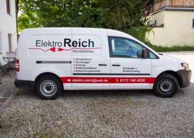 Autobeschriftung Elektro Reich Eiselfing Wasserburg