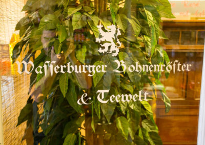 Beschriftung Wasserburger Bohnenröster