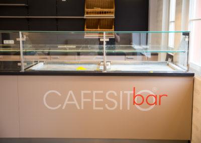Beklebung Thresen Cafesito bar Wasserburg