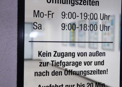 Öffnungszeiten Tiefgarage S4 Wasserburg