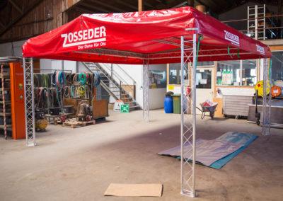 Beschriftung Pavilion Zosseder