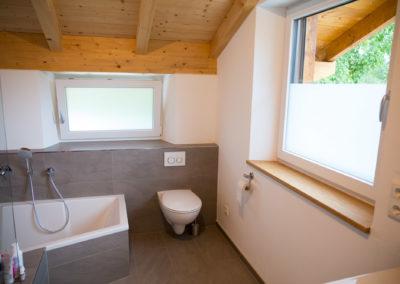 Glasdekorfolie als Sichtschutz im Bad